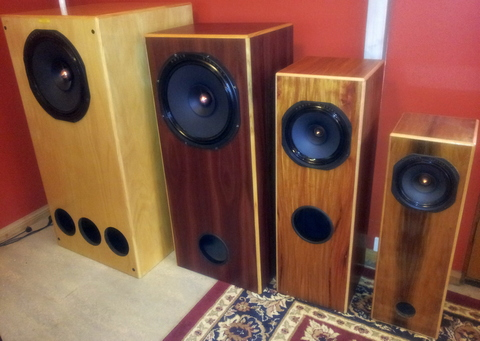 Full Range Speaker kits DIY Speaker Projects DIY Audio Nirvana